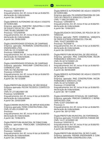 29ad926c52 52  Imagem da página 53 do Diário Oficial de 15 03 2018