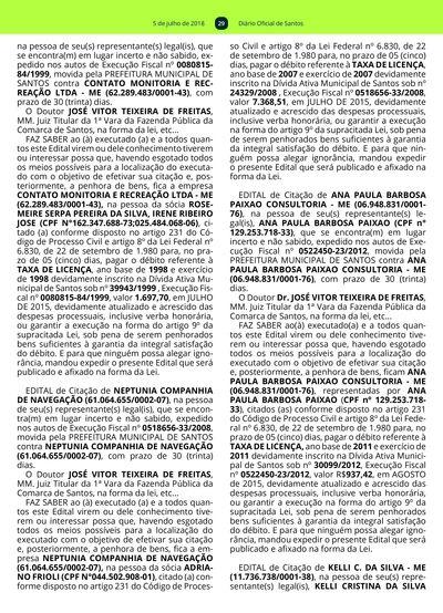 4a6c877635 28  Imagem da página 29 do Diário Oficial de 05 07 2018